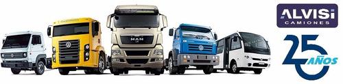 todos los camiones volkswagen 50% en 24 cuotas sin interes