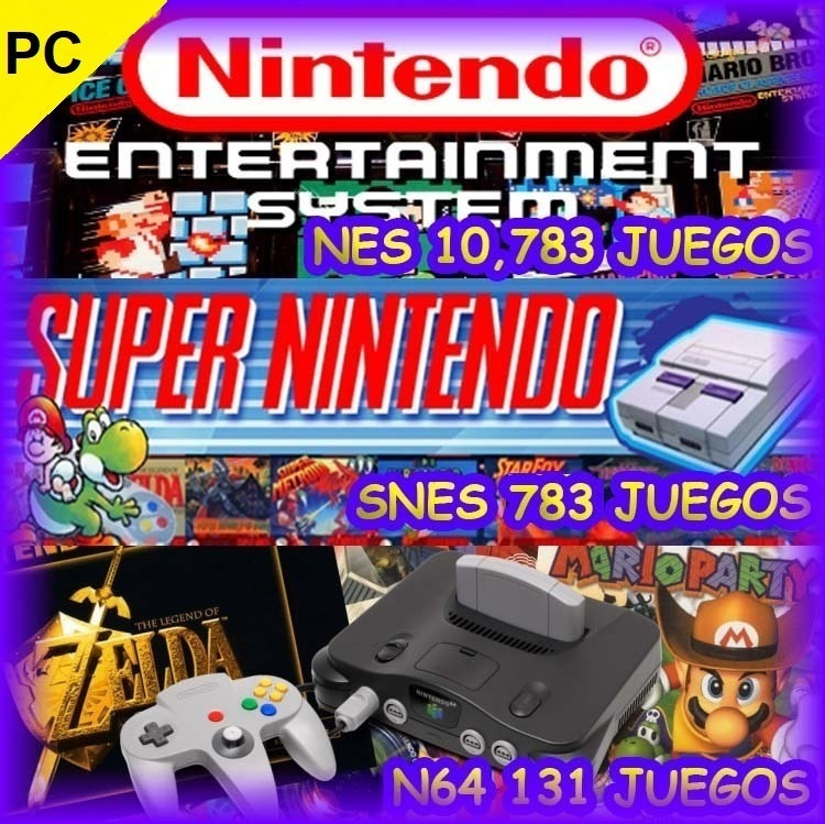 Todos Los Juegos De Nintendo Super Nintendo Y Nintendo 64 37 00