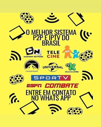 todos os canais para sua smart tv ou tv box