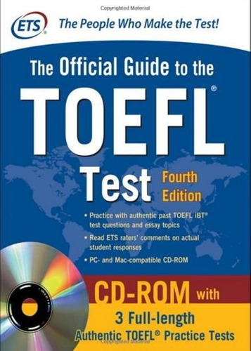 toefl official guide toefl test 4th edition