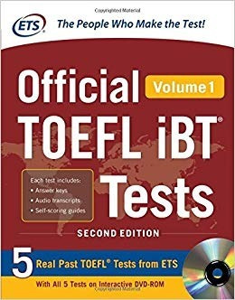 toefl official toefl ibt tests volume 1, 2nd edition