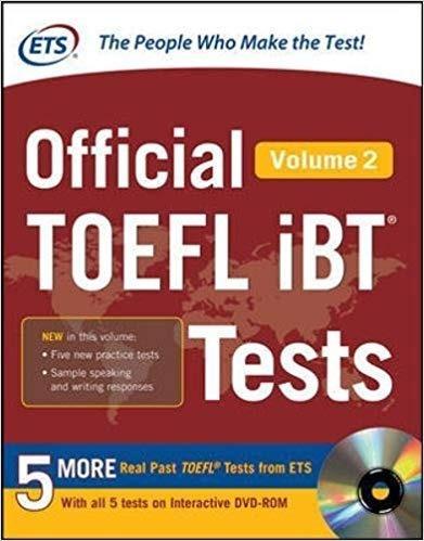 toefl official toefl ibt tests volume 2