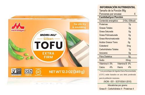 tofu, queso de soya extra firme 349g