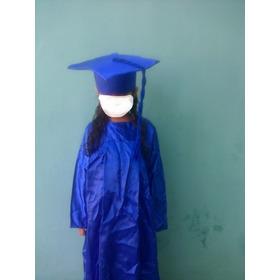 Toga Y Birrete Para Graduacion De Preescolar. Unisex.