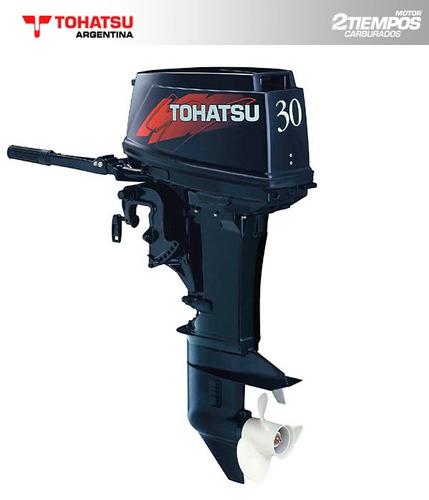 tohatsu 30 hp 2 tiempos m30h - 0 km - concesionario oficial