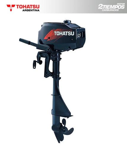 tohatsu 3,5 hp 2 tiempos - 0 km - concesionario oficial