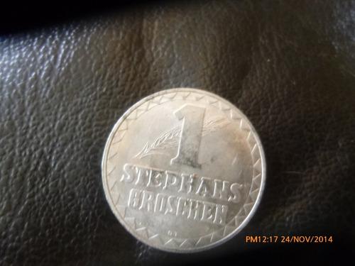 token  austria 1 stephans groschen 1950  (135z z387