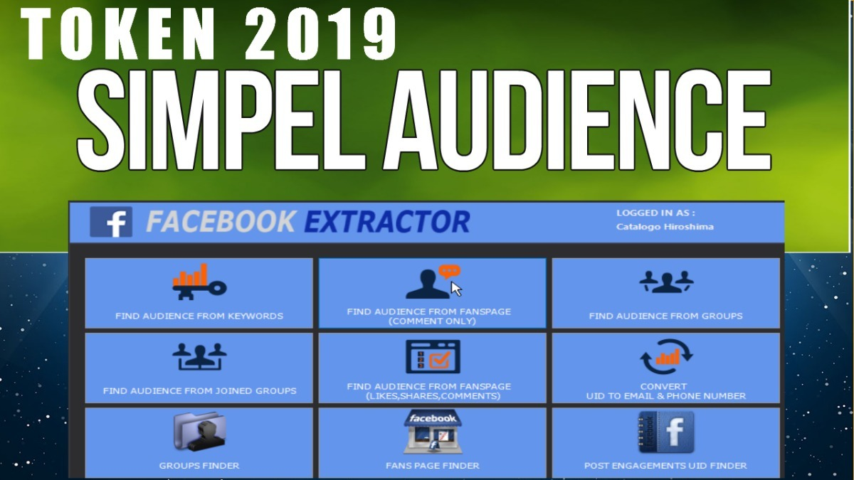 Token Novo 2019 Simpel Audiencie - + Whats Q Sender