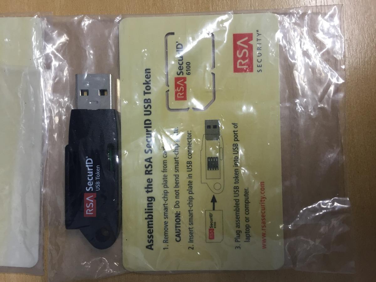 Token Rsa Securid 6100 Usb Token