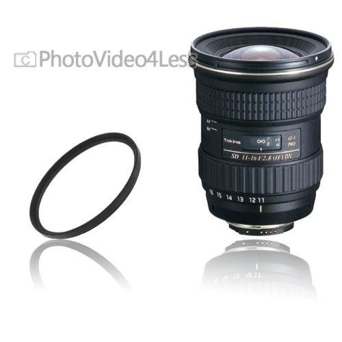 tokina 11-16mm f/2.8 at- x 116 pro dx lente + uv filtro para