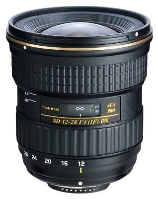 tokina 12-28 mm f / 4.0 at- x pro aps - lente c para canon -