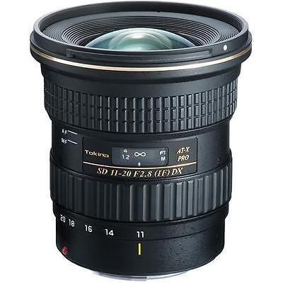 tokina at- x 11-20mm f / 2.8 pro dx lente para canon ef