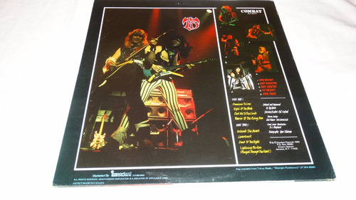 tokyo blade - night of the blade '84 (vinilo:ex - cover:ex)