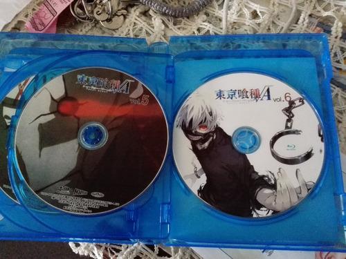 tokyo ghoul 1-2 temporada + ova---- 13 bluray
