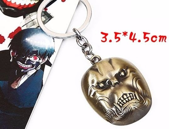 Tokyo Ghoul Koma The Devil Ape Mask Llavero 8000 En Mercado