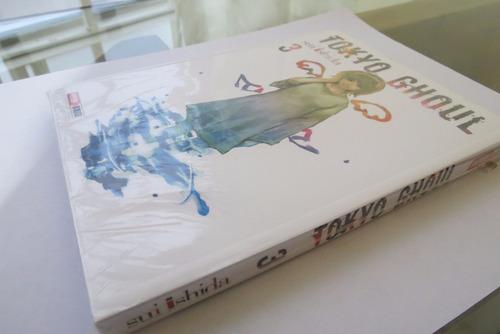 tokyo ghoul manga tomo 3 ed. panini