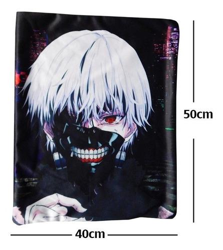 tokyo ghoul soul kaneki ojo rojo funda de almohada 40 x 50cm