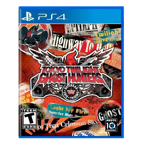 tokyo twilight ghost ps4 juego físico playstation 4 + regalo