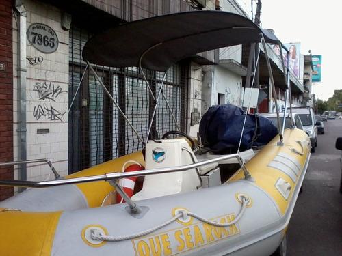 toldilla semirrigido  pampa - viking - kiel nautica gral paz