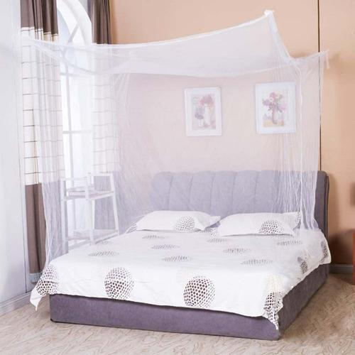 toldillo mosquitero cuadrado para cama doble