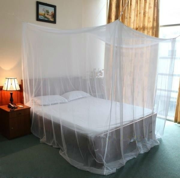 Toldillo mosquitero para cama sencilla o doble for Cama sencilla