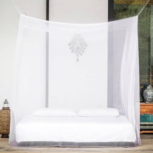 toldillo para cama doble - mosquitero cuadrado
