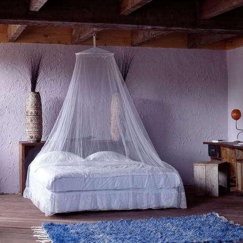 toldillo para cama doble - mosquitero redondo de lujo