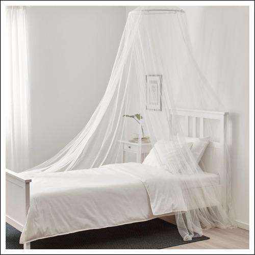 toldillo para cama sencilla - mosquitero redondo de lujo