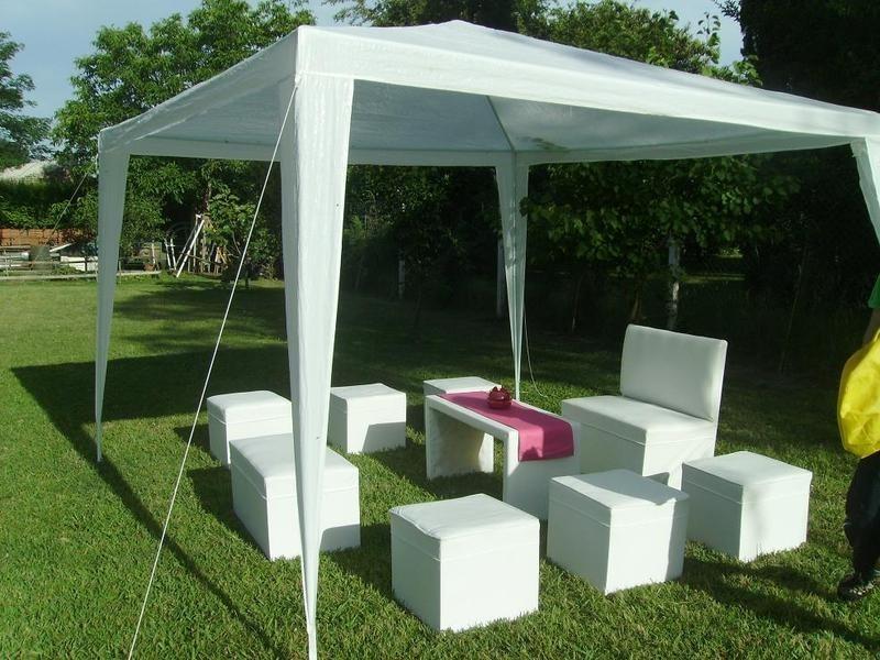 Toldo carpa 3 x 3 para fiestas banquetes ventas impermeable en mercado libre for Toldos impermeables