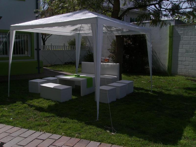 Toldo carpa 3 x 3 para jardin fiestas entrega inmediata en mercado libre - Toldos para la playa ...