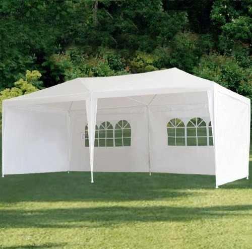 Toldo carpa 6 x 3m con paredes y ventanas para fiesta for Carpas para el jardin