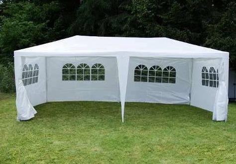 Toldo carpa 6 x 3m con paredes y ventanas para fiesta for Carpas para jardin