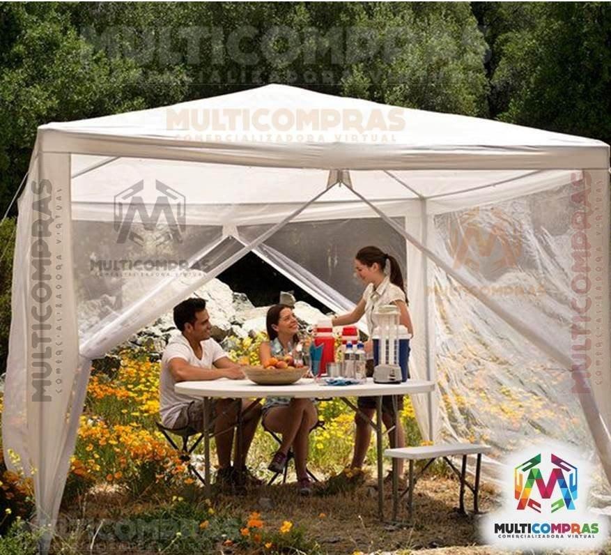 f56471a9c9f Toldo Carpa Negocio Tienda Sol Pergola Aire Libre Picnic - $ 298.900 ...