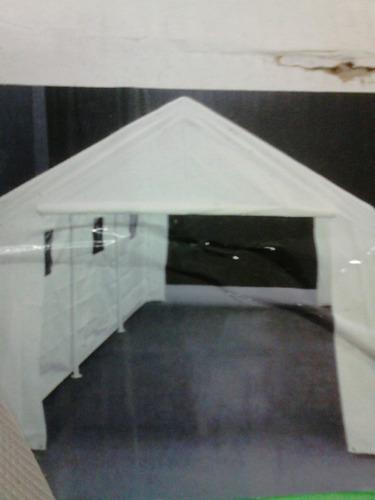 toldo con paredes 8 postes 6 x 3 mts importado king canopy