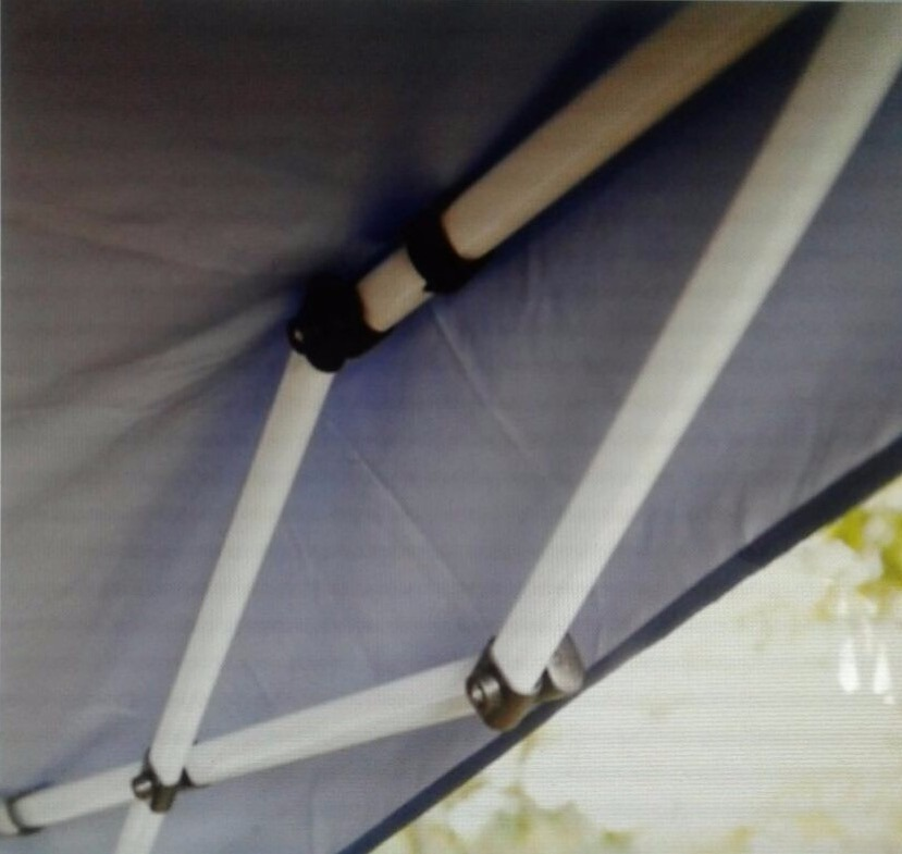 Toldo impermeable plegable 240cm x 240cm en mercado libre for Toldos impermeables