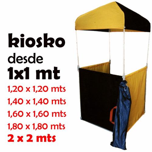 toldo kiosko portatil de aluminio (venta y alquiler)