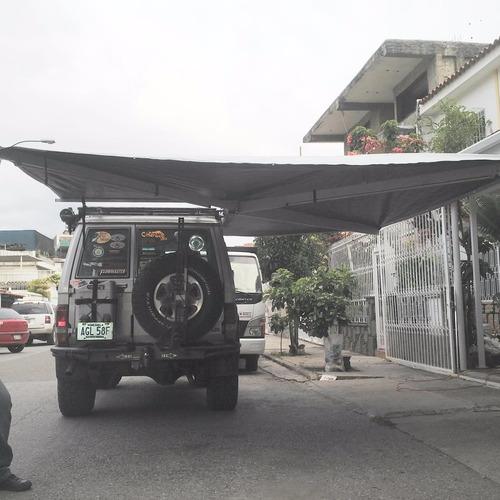 toldo murcielgo tipo alub-cab