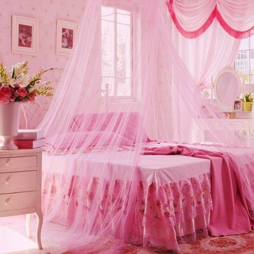 Toldo para cama doble color rosado en mercado libre for Poleas dobles para toldos