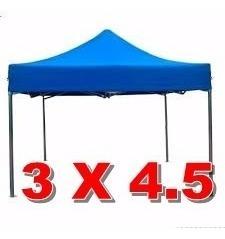 toldo plagable 3x4,5 metalico antioxidable+lona 3 colores