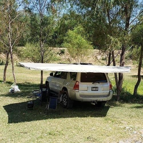 toldo plegable auto o camioneta campismo off road overland
