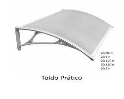 toldo pratico policarbonato kala preço promocional