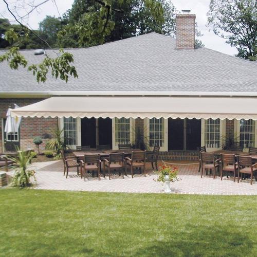 toldo retráctil 3x2.5 mts simple crudo terraza
