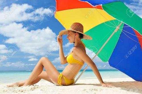 toldo, sombrilla grande, playa, jardín, casa, piscina, solar