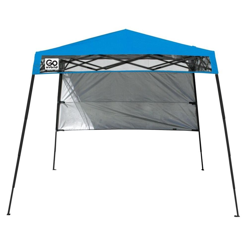 Toldo sombrilla portatil quik shade go hybrid mochila 1 for Gazebo plegable easy
