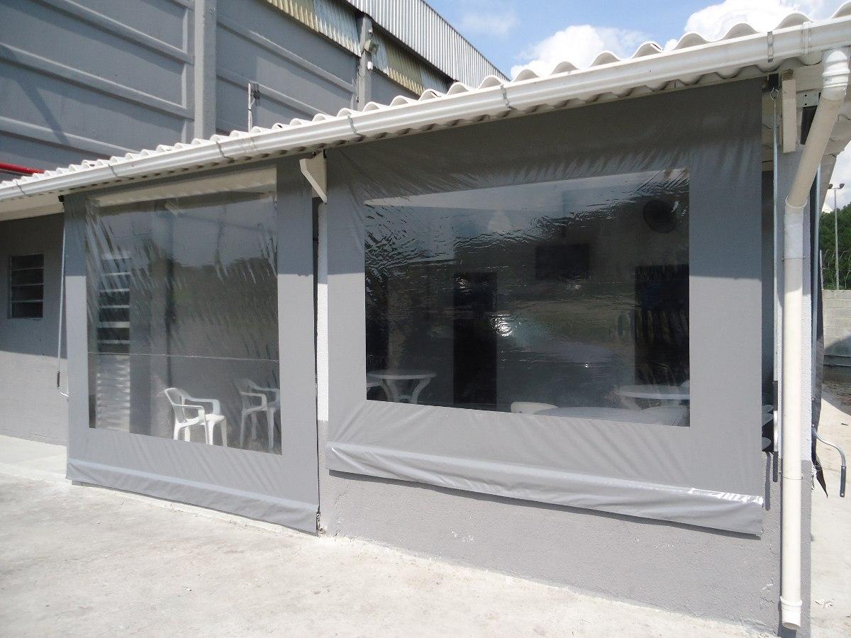 Toldo vertical cortina rolo r 100 00 em mercado livre - Lonas para toldos por metros ...