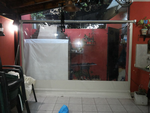 toldos - cerramientos de pvc cristal transparente - galerias