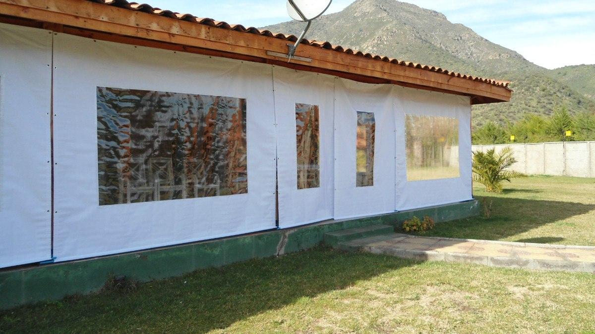 toldos cortinas panoramicas terraza quinchos en