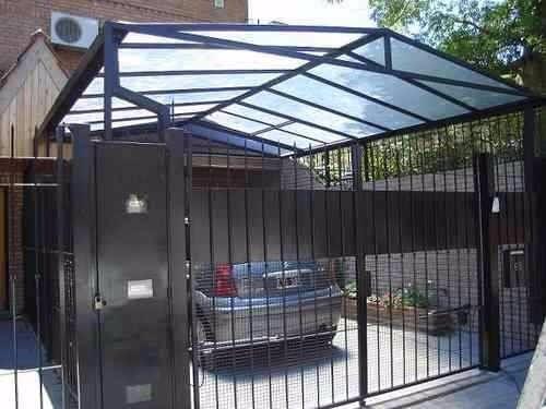 Toldos de aluminio y techos de policarbonato en mercado - Toldos para cocheras ...