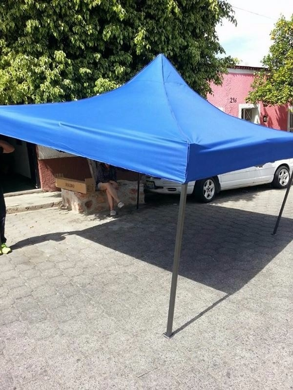 Toldos plegable carpa impermeable 3x3 metros 2 en mercado libre for Toldos impermeables