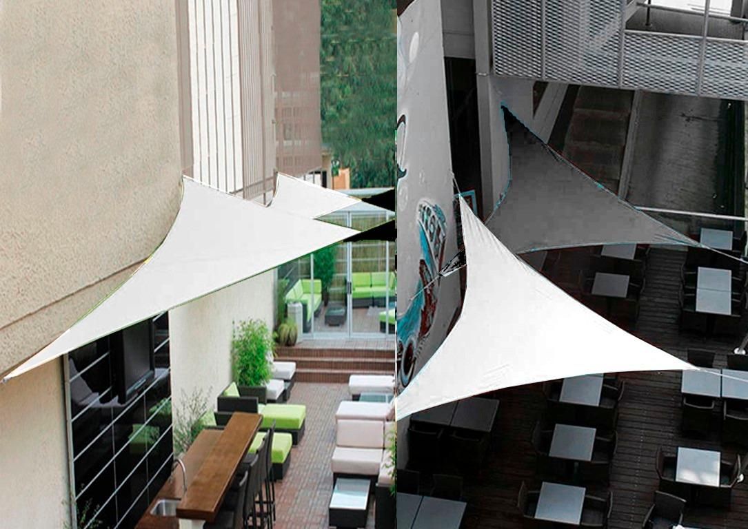 Toldo Triangular Leroy Merlin Stunning Good Prgola De Aluminio Con
